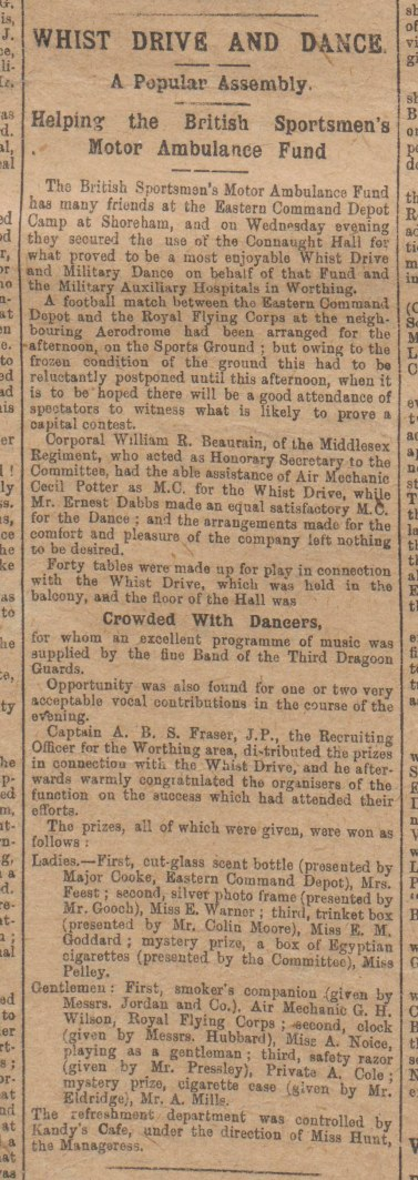 Worthing Gazette_14.2.1917