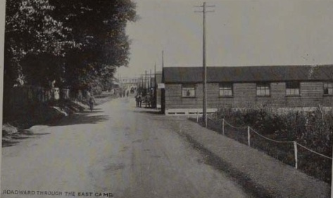 View of road through East Camp. Courtesy of West Sussex County Council Library Service www.westsussexpast.org.uk