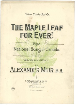 Cover of early 20th century sheet music. Courtesy of Patricia Gardner.